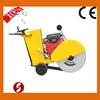Concrete road cutting machine,cutting depth 180mm, gasoline concrete road cutter