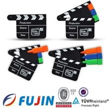 3 in 1 film shape hot novelty multicolor highlighter pen/highlighter for children's promotion