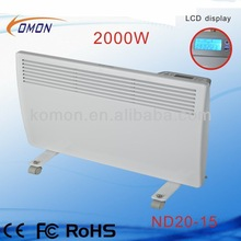 2014 new model LCD control home used electric heater