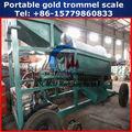 móvil 2014 diseño de pequeña escala de oro por separado de la máquina de lavado