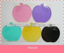 Promotional cute shape sticky pu car mat for car