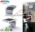 sostituzione per esterni applique da parete solare pannello led con sensore di movimento