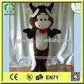 hi ce kaliteli üst satış inek yetişkinler için maskot kostüm