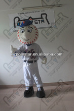 2014 Mr Met Costumes baseball boy mascot costumes NO.4386