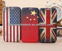Luxury Genuine leather for Samsung Galaxy s4 case string