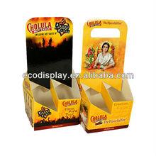 Durable Chilli Sauce/Hot Sauce/Chilli Paste Cardbord Carrier Box