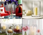 custom clear plastic vases for wedding