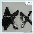Precisão oem preto- alumínio anodizado nomes de instrumentoscirúrgicos peças