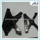 OEM Precision Black-anodized Aluminum Names of Surgical Instruments Parts