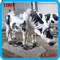 decoração da resina animal jardim estátuas de vaca