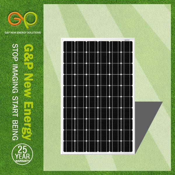 G&P monocrystalline silicon 270W Solar panel
