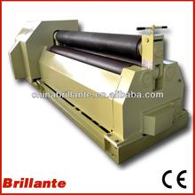 CE METAL PLATE ROLL BENDING MACHINE/BRILLANTE