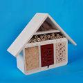 100% handmade colorido de madeira gaiola de pássaro