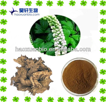 Chinese Herb medical Black Cohosh Extract Triterpene