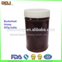 100% Raw Organic Darker Black Buckwheat Honey