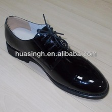 BJ,shiny patent leather popular Italy style uniform men dress shoes for 2014