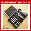 Wholesale manicure pedicure with leather case