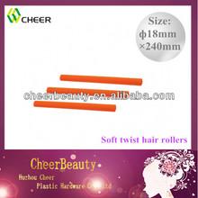 Colorful rubber foam bendy soft foam magic curler