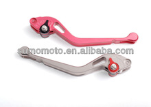 One Hole Long or Short Version Billet 100%CNC Machined Clutch and Brake Motorcycle Racing Levers