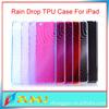 rain drop tpu case for ipad tablet cheap price