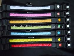 Updated stylish the colored led dog leash