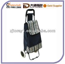 Fashion foldable shopping trolley bag