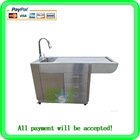 Stainless steel dog bath tub & animal bathtub MSLOV01