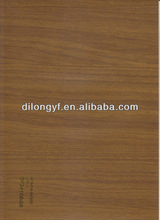 pvc wood decorative overlay film
