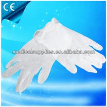 disposable vinyl glove/colored vinyl gloves/blue disposable vinyl gloves