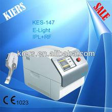 2014 KIERS-147 portable IPL E-light beauty Machine for hair removal skin rejuvneation acne removal/portable IPL hair renoval