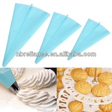 3 Sizes Icing Piping Bag Icing Cream Pastry Bag Decorating Tool DIY Reusable