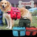 Spedizione gratuita! Moq: 1pc, cane da compagnia sacchetto medie e grandi cani di grossa taglia zaino outdoor borse da sella per escursioni a piedi