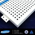 Aluminium prix des carreaux de plafond acoustique