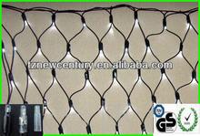2014 2m*1.5m/2m*2m/1.5m*1.5m/4m*1m-192/256/144pcs with CE GS RoHS - waterproof outdoor rubber cable LED net light