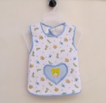 baby pure color cotton knitted bibs/soft, infant safe material