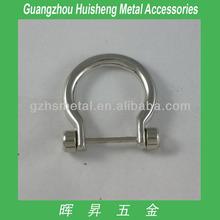 High Quality Handbag Accessories Ring Metal Metal D Ring Large Metal D ring
