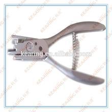 KEARING BRAND, HANDICRAFT SQUARE NOTCHER TOOLS, 1.3 CM CIRCLE HOLE MAKING NOTCHER, #50N