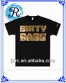 China fabricantes de ropa ropa de hip hop de impresión t- shirt copa del mundo de 2018 t- shirt