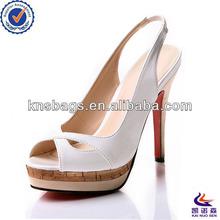 Fashion ivory lace wedding shoes