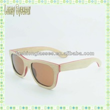 New arrival 2014 Synthetic Wood sunglass/eyewear OEM