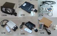 20 keys RF remote controller ,AC100-240V input 10*2w double port 16W fiber optic light engine