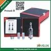 best seller promotion detachable tube top quality factory price e cigarette 100% genuine kanger colorful protank 2 vaporizer
