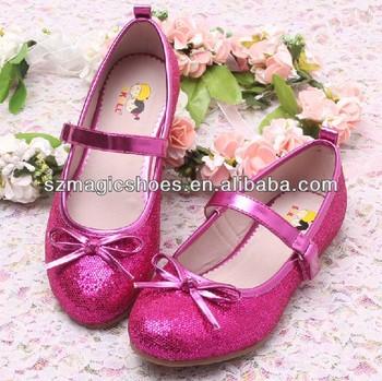 Little Girls Stylish Shoes Ballet Style