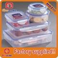 top qualidade últimas bpa free plástico recipiente de alimento