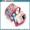 2014 clear travel cheap zip top pvc cosmetic bag