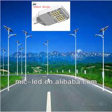 CE RoHS 9m IP68 30w -98w solar street light/road lamp/street lighting fitting