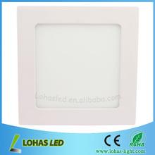 2015 led flat panel lighting9w 85-265V 660lm Aluminum 2835 chip high lumen led table lamp