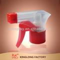 plástico gatilho pulverizador com pulverizador