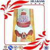 accept customer order gravure printing dog treat packaging bag