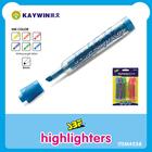 Waterproof highlighter marker pen item 558